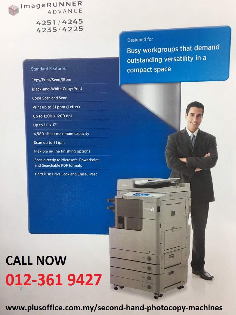 photocopy machine selangor kl subang shah alam pj